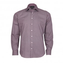 MEDALLION PRINT EXTRA SLIM FIT