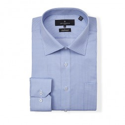 JEFF BANKS BLACK LABEL CHAUCER MINI CHECK TAILORED FIT