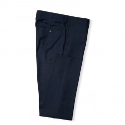 IVY LEAGUE SLIM FIT TONAL CHECK TROUSERS