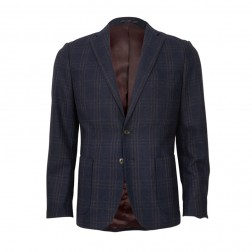 LARGE CHECK BLAZER