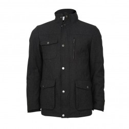 WOOL MARLE UTILITY JACKET