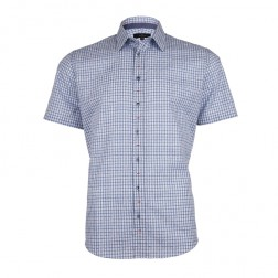 JACQUARD CHECK SLIM FIT