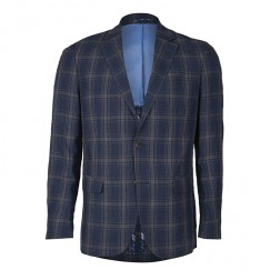 IVY LEAGUE WINDOWPANE CHECK BLAZER