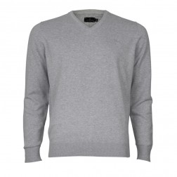 CORE V-NECK COTTON KNIT