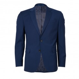 IVY LEAGUE SQUARE WEAVE SLIM SUIT JACKET