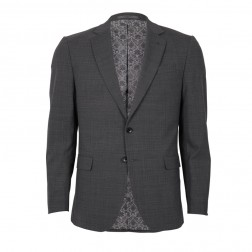 IVY LEAGUE SUBTLE CHECK SLIM SUIT JACKET