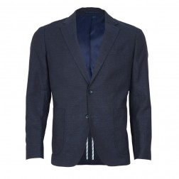MOTTLE SLUB UNSTRUCTURED BLAZER