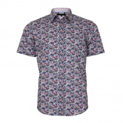 RODODENRON PRINT SLIM FIT
