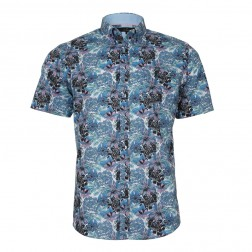 TROPICAL PRINT SLIM FIT