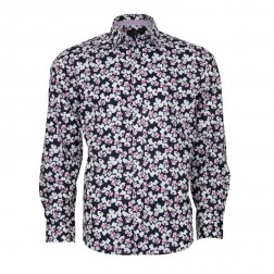 FLOWER PRINT SLIM FIT