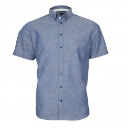 SOLID LINEN COTTON SLIM FIT
