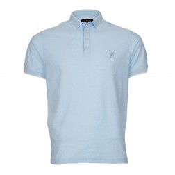 MERCERISED FEEDER STRIPE POLO
