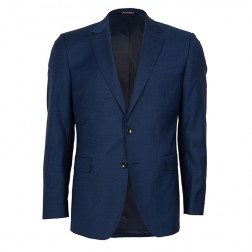 NEW PERFORMANCE SLIM FIT 2 TONE PINPOINT JACKET