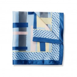 ART GRAPHIC POCKET SQUARE
