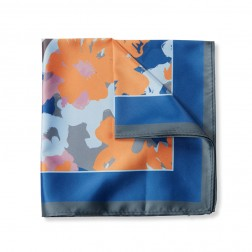 FLORAL GRAPHIC POCKET SQUARE