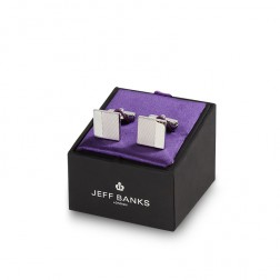 JEFF BANKS SPLIT FACE CUFFLINK