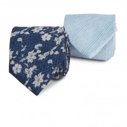 FLORAL PLAIN TWIN TIE PACK