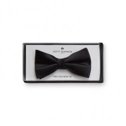 JEFF BANKS SILK BOW TIE