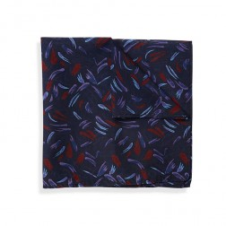 ABSTRACT FLORAL POCKET SQUARE