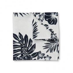 TROPIC FLORAL POCKET SQUARE