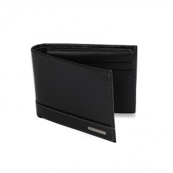 L-FOLD PEBBLED WALLET