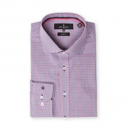 ZIG-ZAG GINGHAM SLIM FIT
