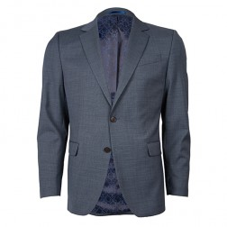 IVY LEAGUE ZIG ZAG TWILL SLIM SUIT  JACKET