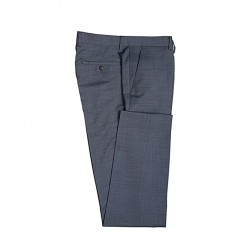IVY LEAGUE ZIG ZAG TWILL SLIM SUIT TROUSER
