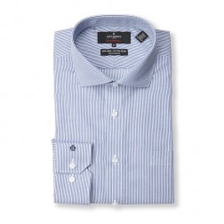 FIENNES STRIPE PERFORMANCE TAILORED FIT