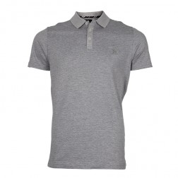 MERCERISED JACQUARD POLO