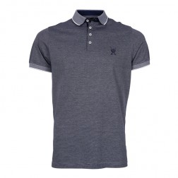 MERCERISED FINE STRIPE POLO