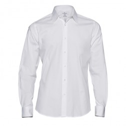 Jeff Banks White Label Hulk Stretch Poplin Shirt