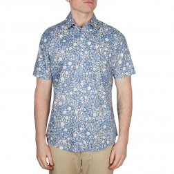FROSTED FLORAL PRINT SLIM FIT