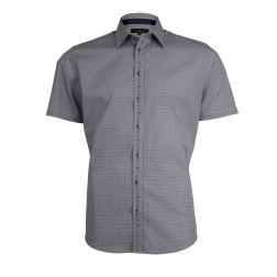 JEFF BANKS AOP SMALL SCALLOP SLIM FIT