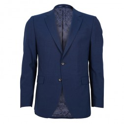 IVY LEAGUE PLAIN WEAVE SLIM SUIT JACKET
