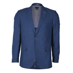 IVY LEAGUE TEXTURED COTTON BLAZER
