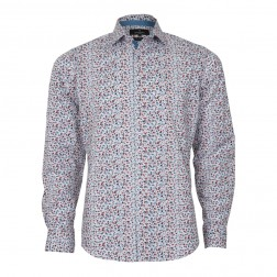 FLORAL BLOT PRINT EXTRA SLIM FIT