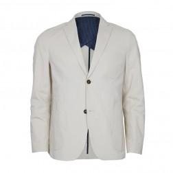 STRETCH TWILL COTTON BLAZER