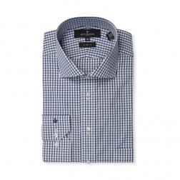CHECK POPLIN HOT PRICE SLIM FIT
