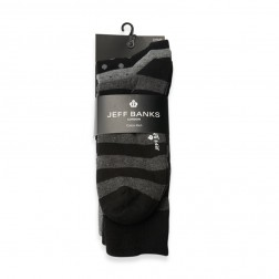 JEFF BANKS SOCKS 3PK