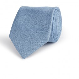 CHAMBRAY SILK TIE