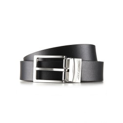 Textured BLACK/BROWN Reversible BELT