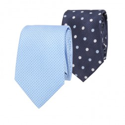 IVY LEAGUE SPOT & MICRO SPOT TIE PACK