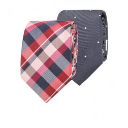 IVY LEAGUE CHECK & SPOT TIE PACK
