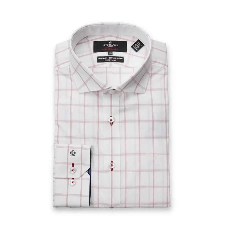 MARLE PERFORMANCE CHECK SLIM FIT