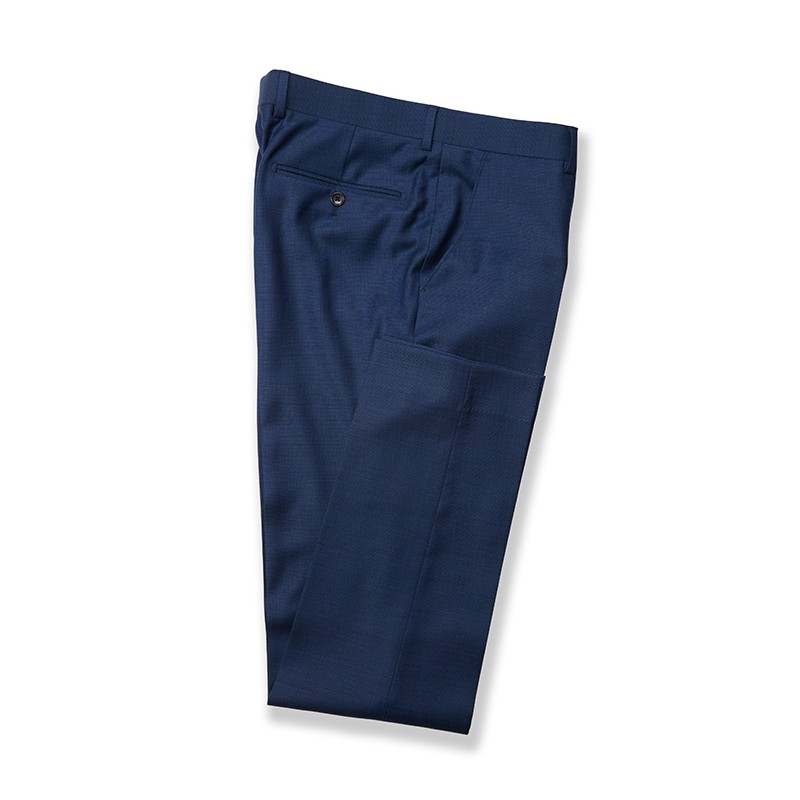 NEW PERFORMANCE SLIM FIT 2 TONE PINPOINT TROUSERS