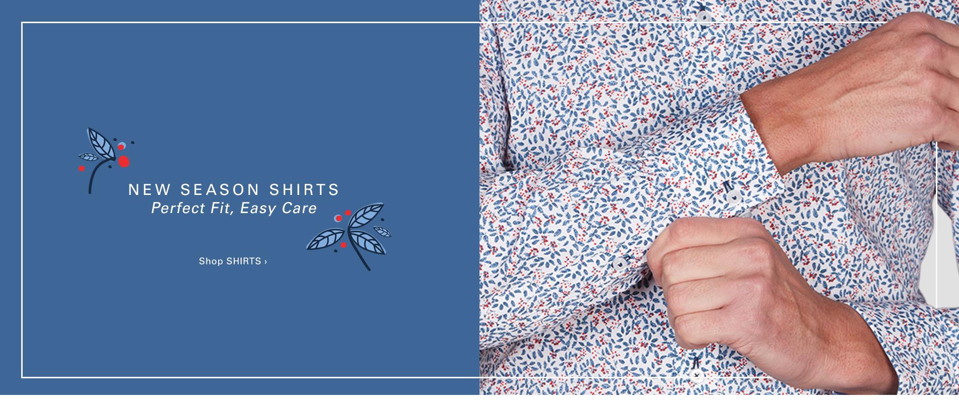 New Season Shirts | Shop Now
