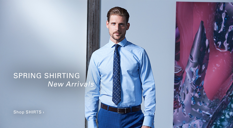 Spring Shirting - New Arrivals - Shop Shirts >