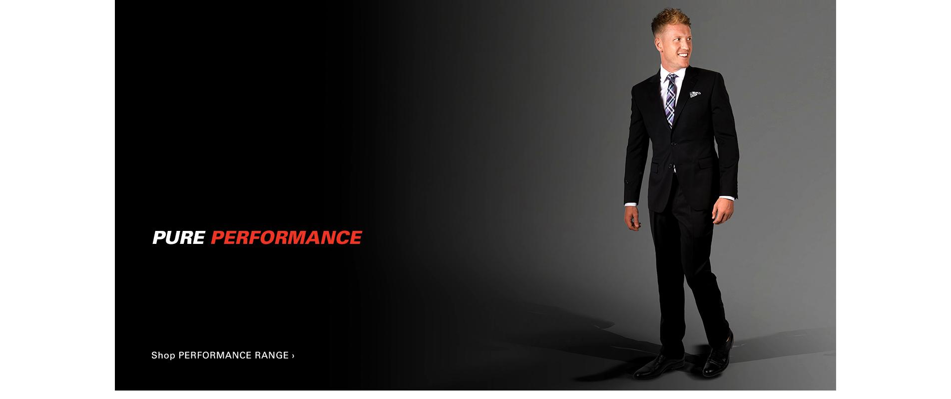 Pure Performance - Shop Performance Range >